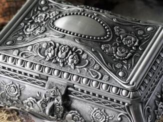 Antique Trinket Boxes, Jewelry Boxes, Caskets,