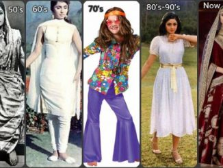 Evolving Fashion Trends - Then and Now