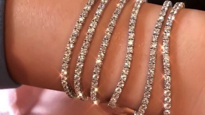 Cubic Zirconia Tennis Bracelet - even as Nice As a Diamond Bracelet at a Fraction of the value