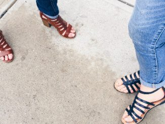 What is the Latest Celebrity Fashion Trend? Gladiator Shoes!